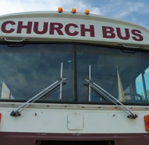 Thanksgiving on the Church Bus