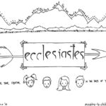 """Ecclesiastes"" Bible Coloring Page"