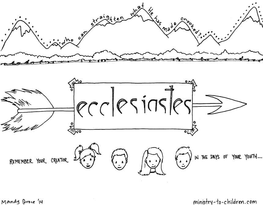 ecclesiastes 3 1 coloring pages - photo#11
