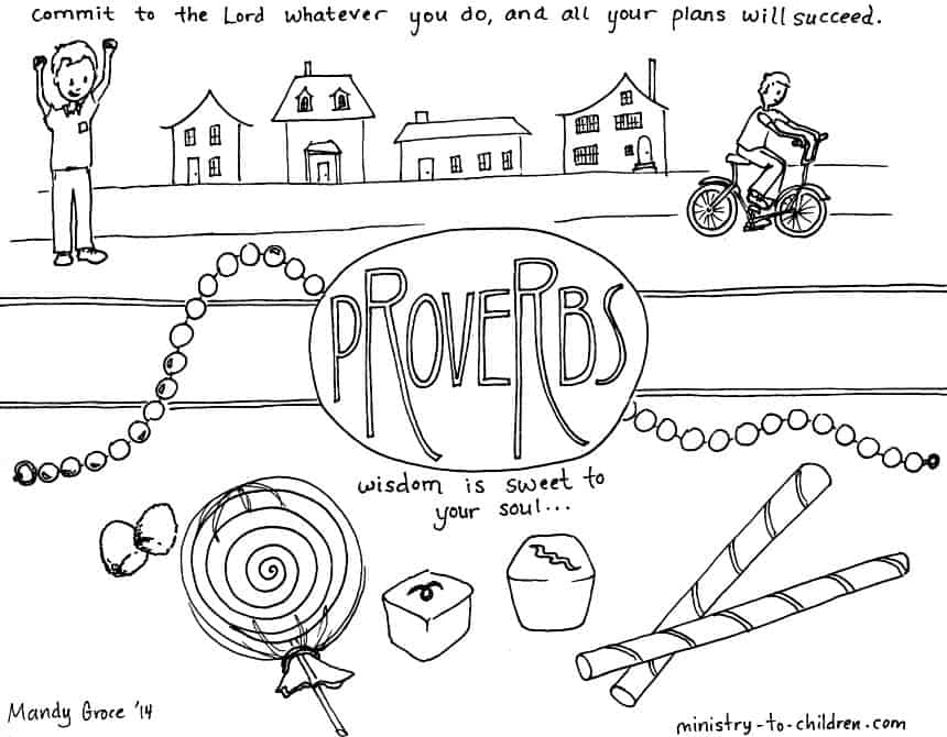 Proverbs\ Bible Coloring Page Ministrytochildrenrhministrytochildren: Bible Based Coloring Pages At Baymontmadison.com