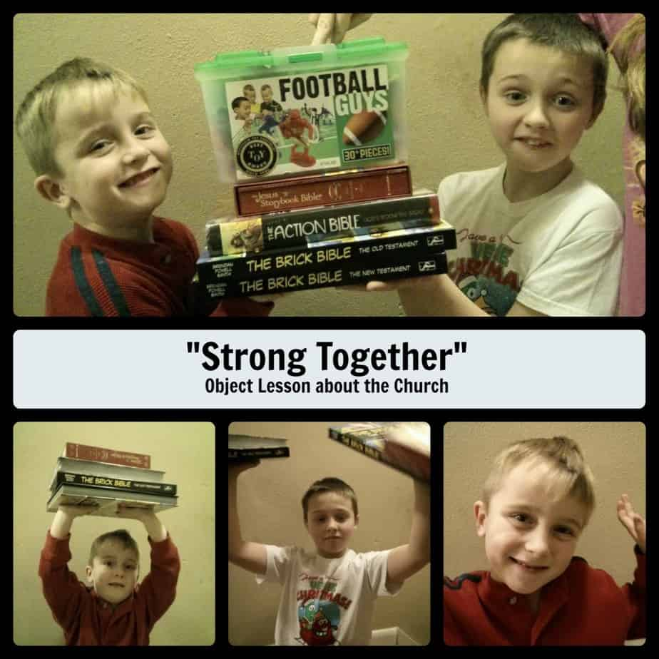 """""""Strong Together"""" Object Lesson about the Church"""