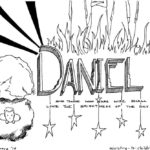 Daniel Bible Book Coloring Page Printable
