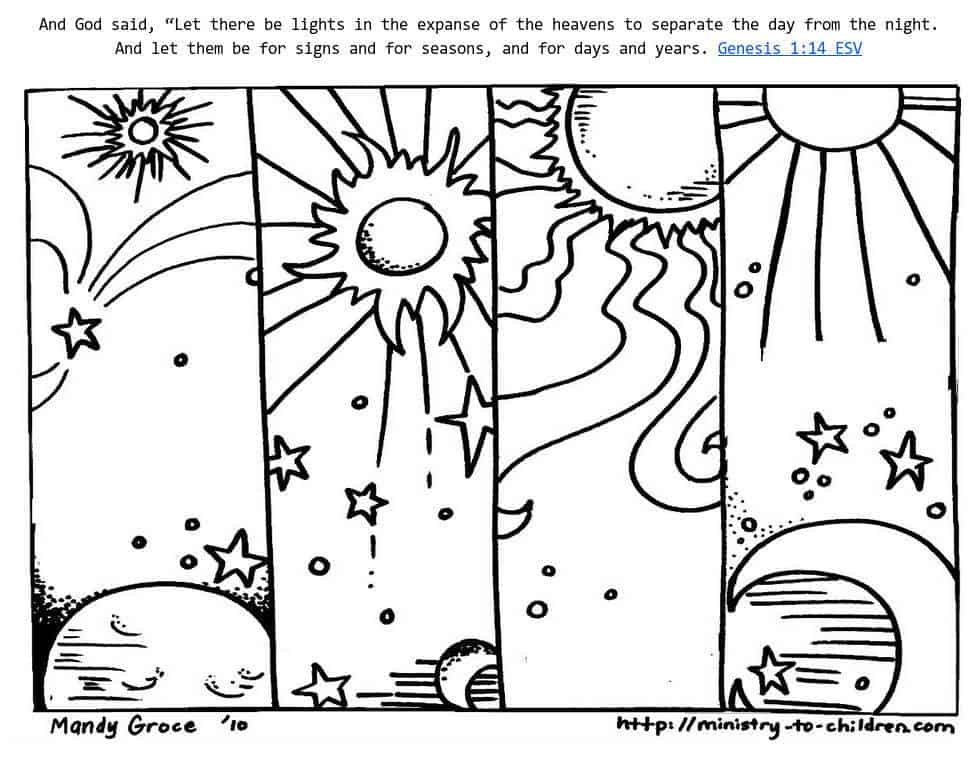 day and night coloring pages Book Covers