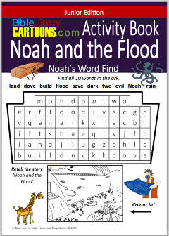 Free Activity Book about Noah & the Flood