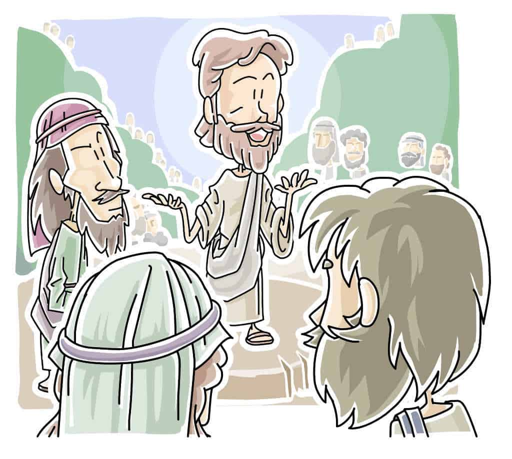 Jesus Teaching,