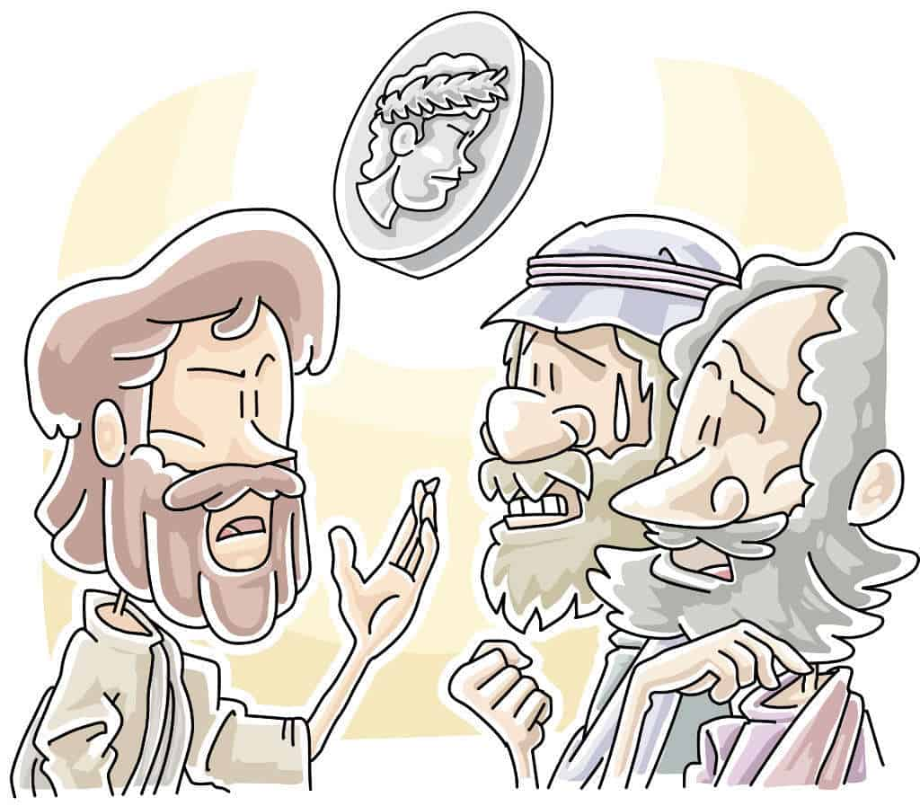 Give to God - Matthew 22 Lesson for Kids