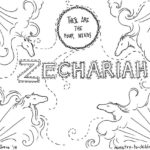 Zechariah Coloring Page