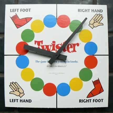 Twister Game Bible Object Lesson