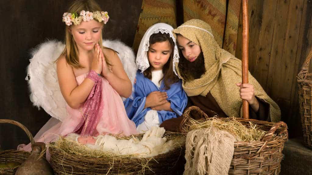 Teaching Skits of Jesus' Birth from Luke 1 & 2