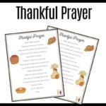 children's prayer of thanksgiving
