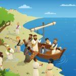 Jesus calling disciples lesson