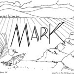 Mark Bible Book Coloring Page