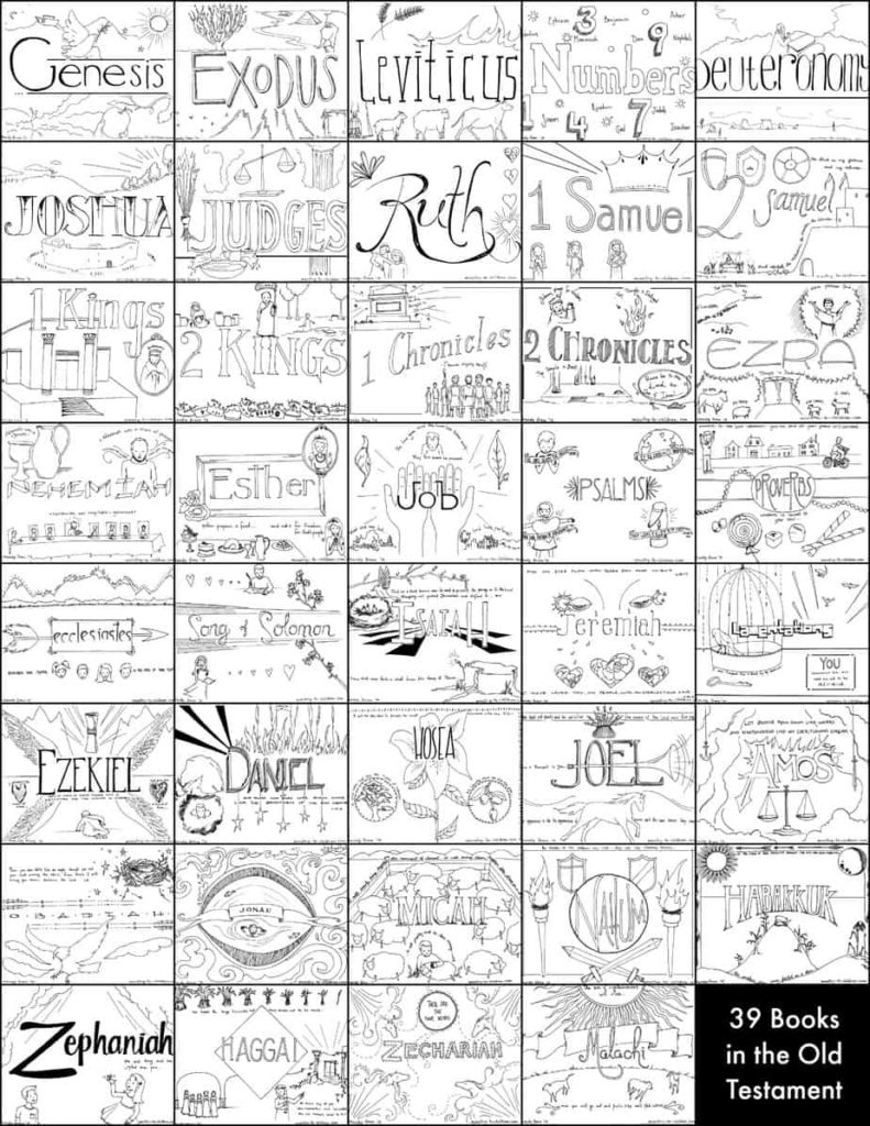 image relating to Books of the Bible Printable known as Bible Coloring Internet pages for Youngsters [Cost-free Printables]