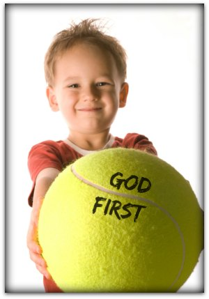 Keeping God First Object Lesson (Matthew 22:37)