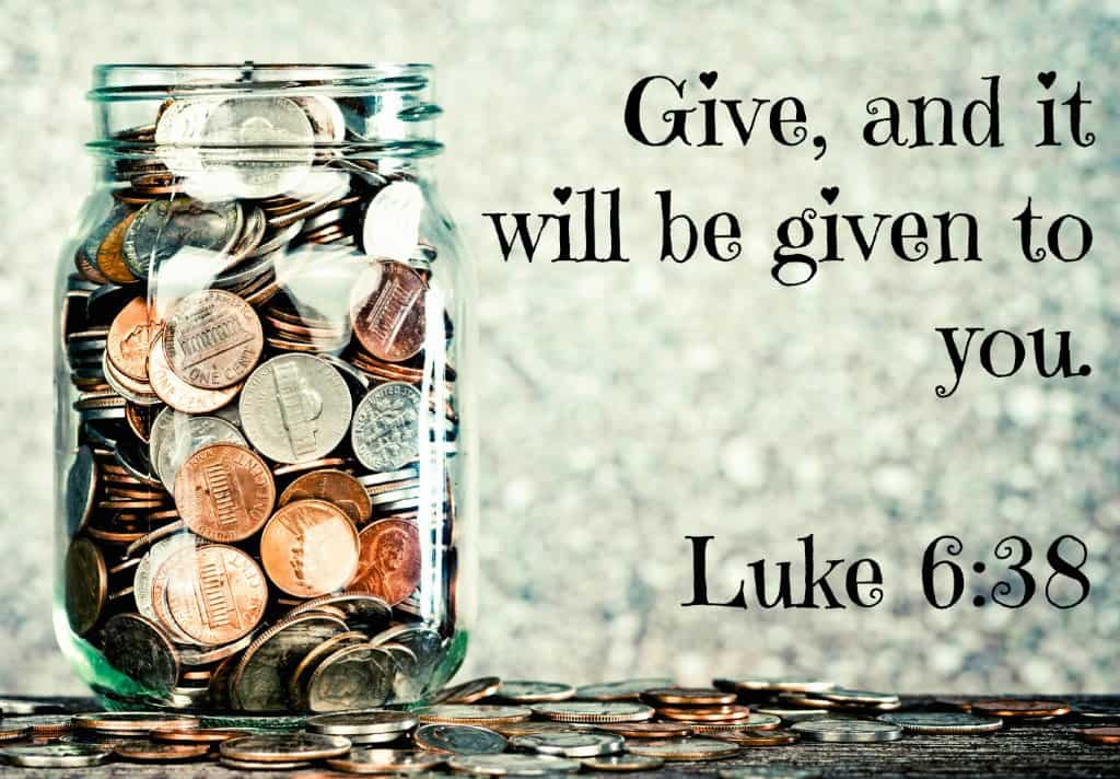 bible quotes about giving quotesgram