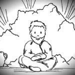 Elijah-hiding-in-cave