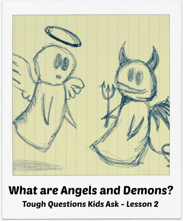Kids Bible Lesson on Angels and Demons