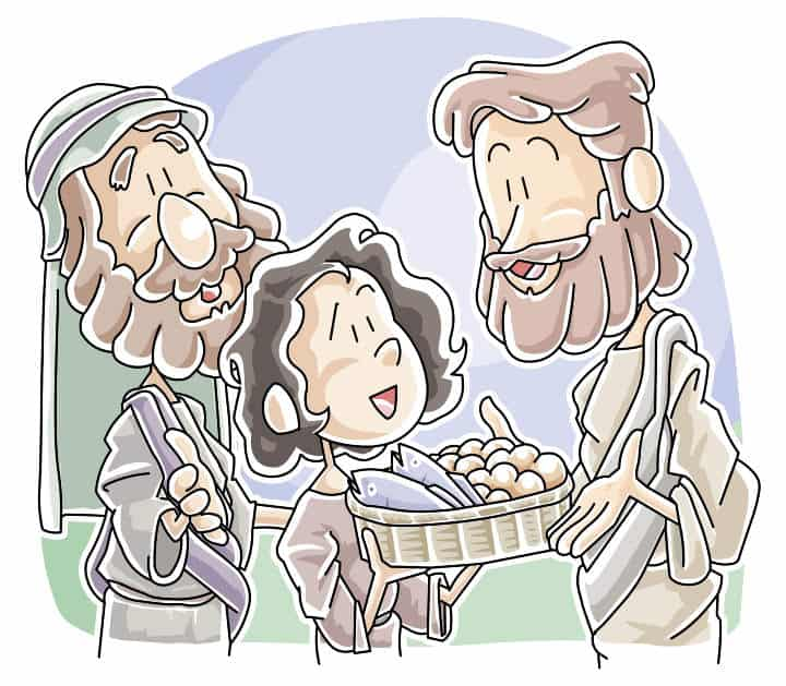 Lesson: Jesus Feeds 5,000 with Boy's Lunch (Matthew 14:13-21)