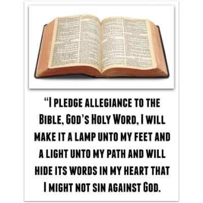 Pledge to the Bible MinistryToChildren