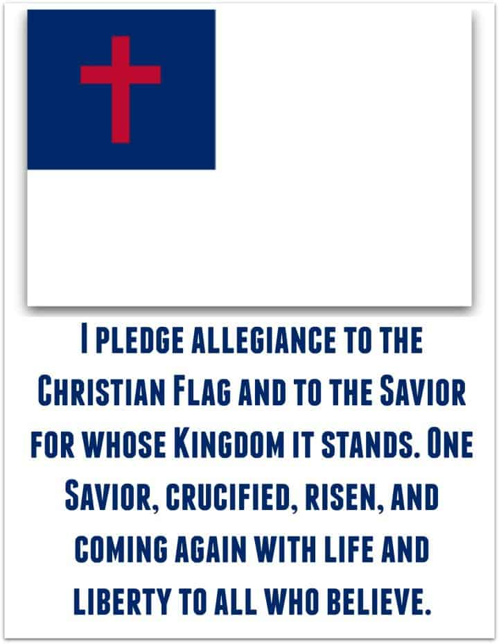 Pledge To The Christian Flag Ministry To Children