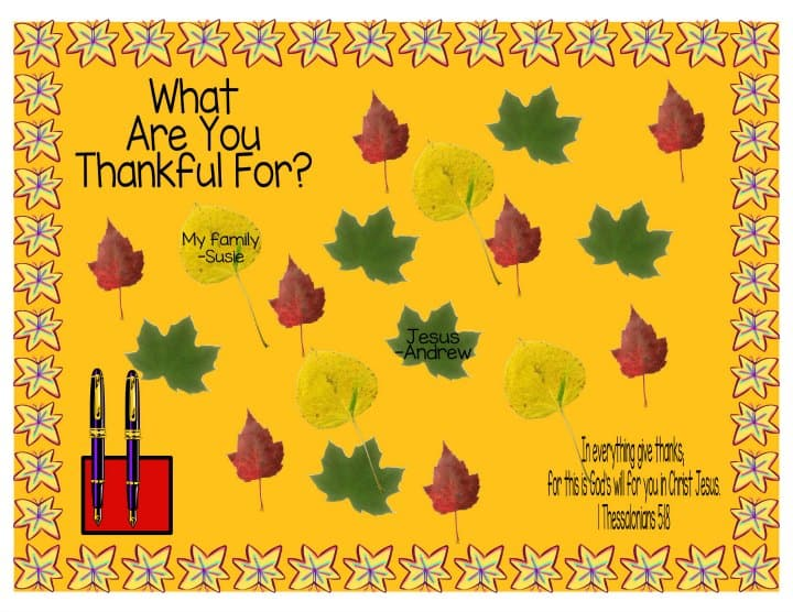 Thanksgiving Bulletin Board Ideas For Church Sunday School Ministry To Children