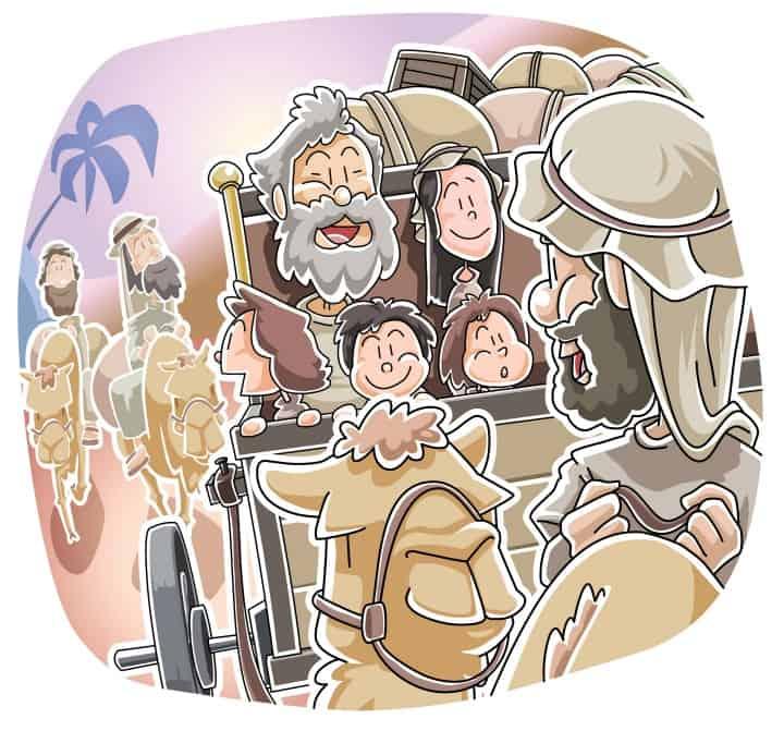 Jacob Runs from Laban Genesis 31 (Sunday School Lesson)