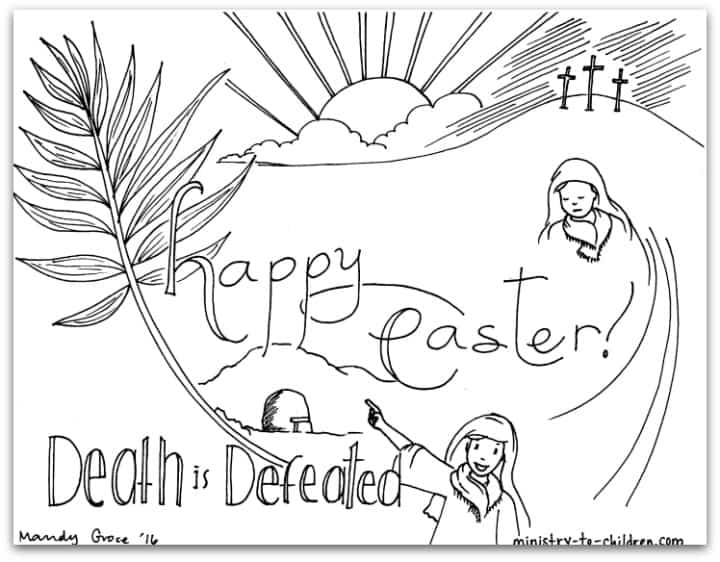 15 Easter Coloring Pages Bible Based Free Printable Pdf