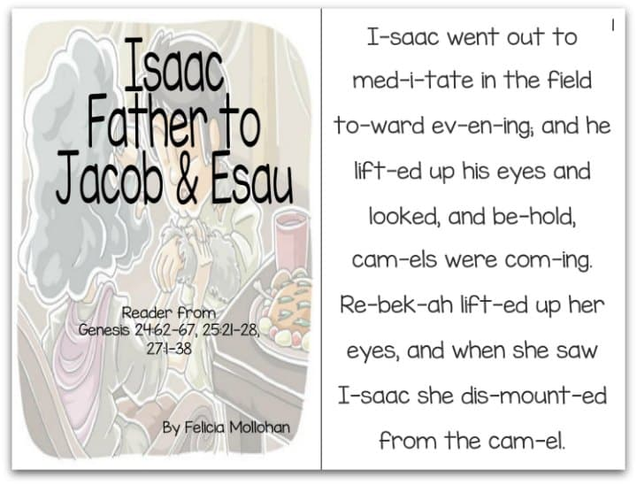 Isaac Father Of Jacob Esau Story For Early Readers Ministry To Children