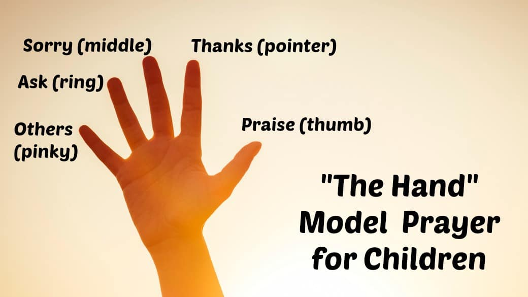 The Prayer Hand for Kids Lord 39 s