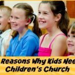 5 reasons why kids need children's church