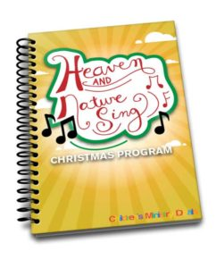 Heaven and Nature Sing Christmas Program