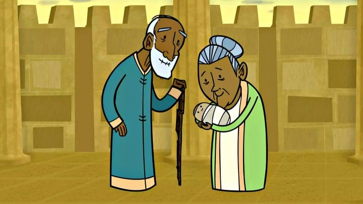 Video Bible Story Simeon and Anna