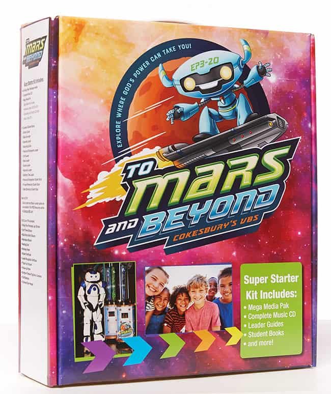 "2020 Let S Glow Crazy Theme Kit: Cokesbury VBS Starter Kit 2019 ""To Mars And Beyond"