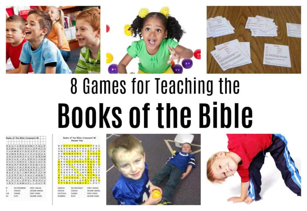 8 Games for Teaching the Books of the Bible