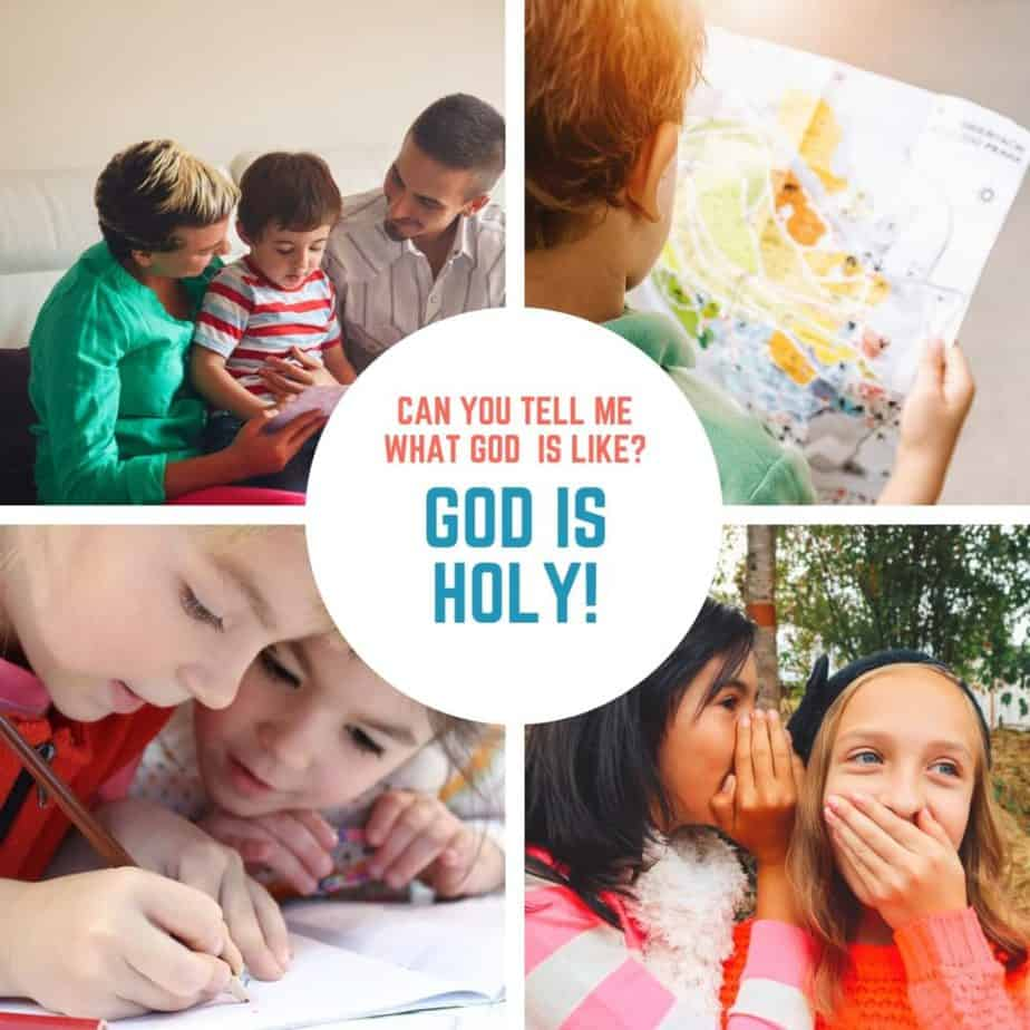 God is Holy (Exodus 20) Lesson #14 in What is God Like?
