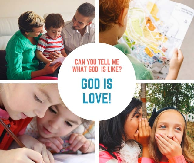 God is Love Sunday School Lesson for Kids