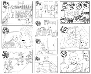Psalm 100 kjv coloring pages ~ Bible Coloring Pages for Kids (100% Free) Printables