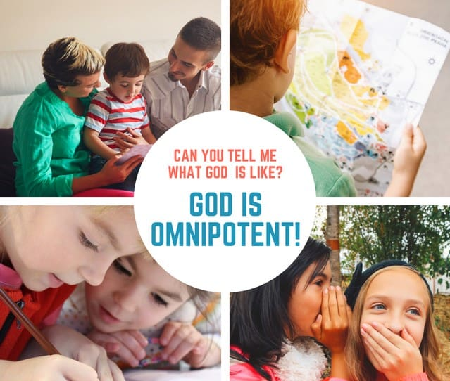 God is Omnipotent (Judges 16) Lesson #24 in What is God Like?