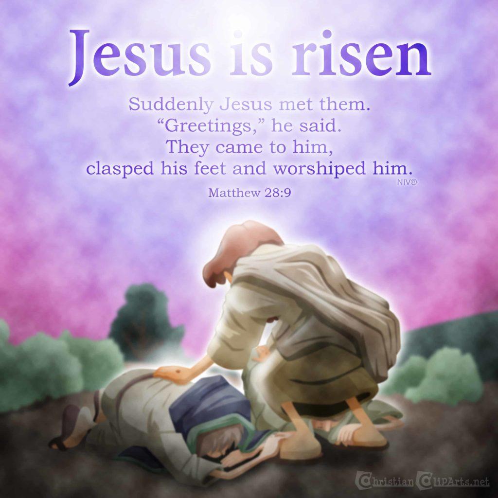 He Has Risen Luke 2324 Sunday