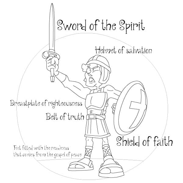 Back to School (Sunday School Lesson) Armor of God for Kids