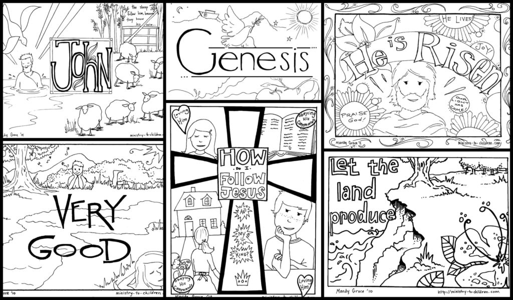 bible coloring pages for kids free printables. Black Bedroom Furniture Sets. Home Design Ideas