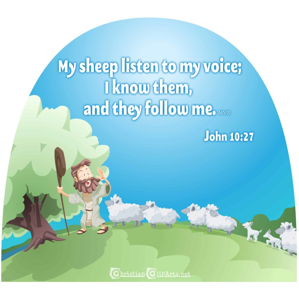 Hearing The Shepherd John 10 22 30 Children S Sermon