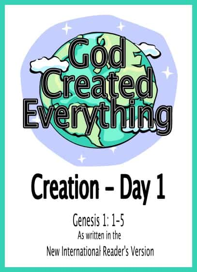 The Story of Creation for Kids (Lessons, Coloring, Video