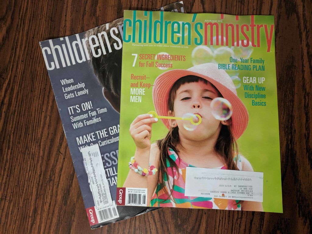 Free Children's Ministry Magazine Subscription