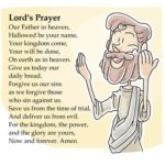 Lesson on the Lord's Prayer