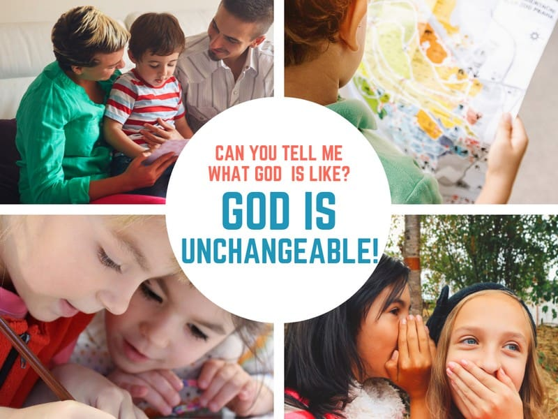 In this lesson plan from Luke 19, kids will learn that God is Unchangeable.