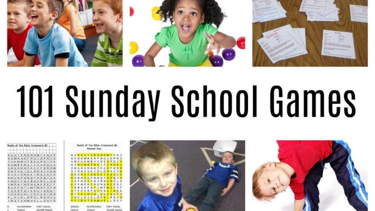 101 Sunday School Games Fun Easy Bible Activities For Kids
