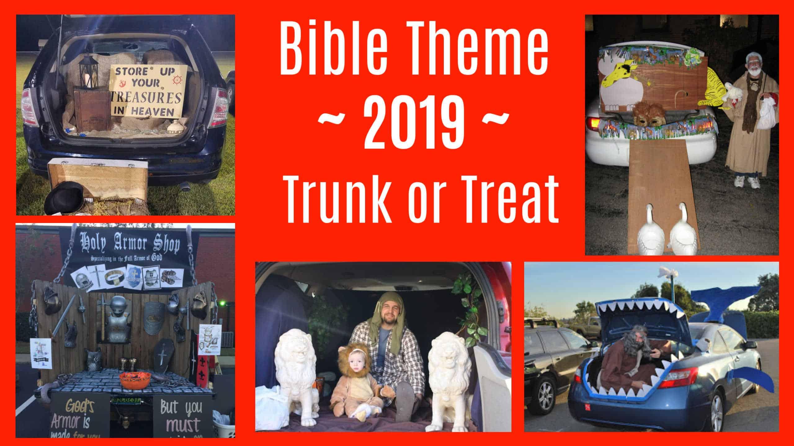 Trunk or Treat Church Christian Halloween Alternative Ideas
