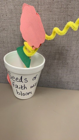 seeds of faith sunday school craft