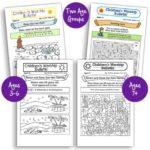 Children's Worship Bulletins